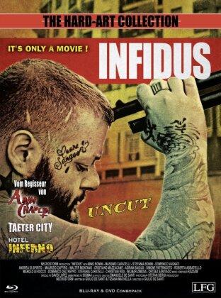 Infidus (2015) (The Hard-Art Collection, Cover A, Edizione Limitata, Mediabook, Uncut, Blu-ray + DVD)