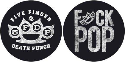 Five Finger Death Punch Slipmat Set - Knuckle/Fuck Pop