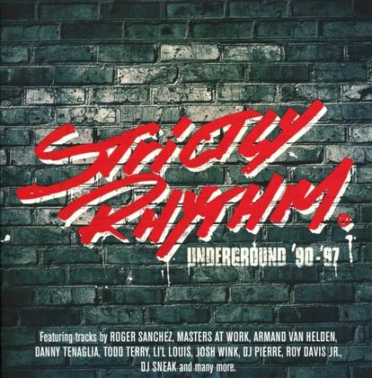 Strictly Rhythm Underground 90 - 97 (Remastered, 3 CDs)