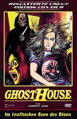 Ghosthouse - Im teuflischen Bann des Bösen (1988) (Grosse Hartbox, Cover B, Neuauflage, Remastered, Uncut)