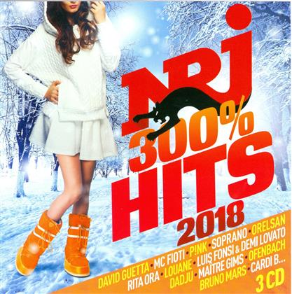 NRJ 300% Hits 2018 (3 CDs)