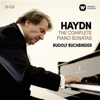 Rudolf Buchbinder & Joseph Haydn (1732-1809) - Complete Piano Sonatas (10 CDs)