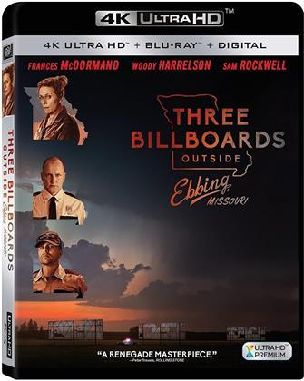 Three Billboards Outside Ebbing Missouri (2017) (4K Ultra HD + Blu-ray)