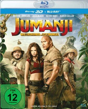 Jumanji - Willkommen im Dschungel (2017) (Blu-ray 3D + Blu-ray)