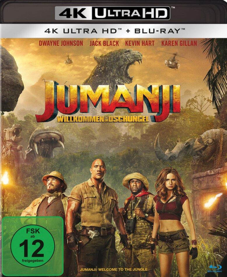 Jumanji - Willkommen im Dschungel (2017) (4K Ultra HD + Blu-ray)