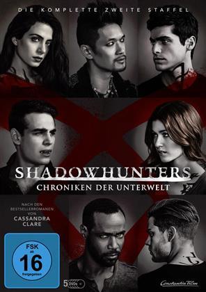 Shadowhunters - Chroniken der Unterwelt - Staffel 2 (5 DVDs)
