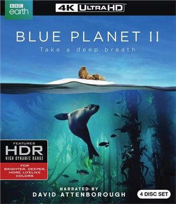Blue Planet 2 - Take a deep breath (2017) (BBC Earth, 2 4K Ultra HDs + 2 Blu-rays)