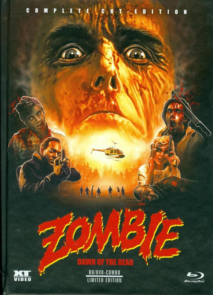 Zombie - Dawn of the Dead (1978) (Complete Cut-Edition, Limited Edition, Mediabook, Special Edition, Blu-ray + DVD)