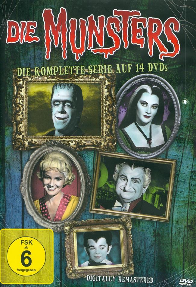 Die Munsters - Die komplette Serie (Neuauflage, Remastered, 14 DVDs)