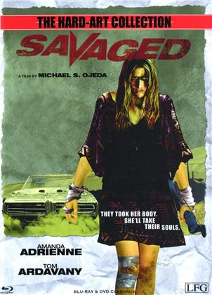 Savaged (2013) (Cover A, The Hard-Art Collection, Limited Edition, Mediabook, Uncut, Blu-ray + DVD)