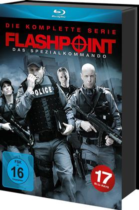 Flashpoint - Die komplette Serie (17 Blu-rays)