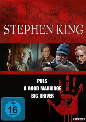Stephen King - Puls / A Good Mariage / Big Driver (3 DVDs)