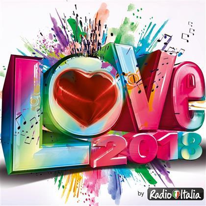 Radio Italia Love 2018 (2 CDs)