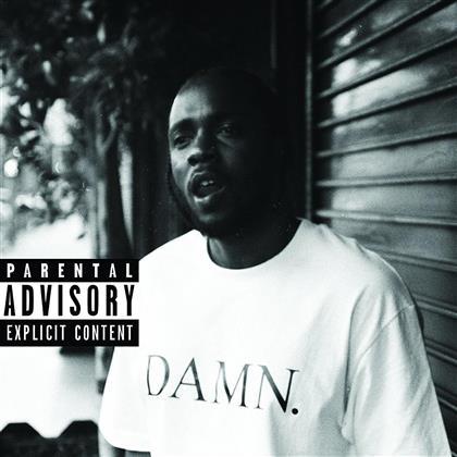 Kendrick Lamar - Damn (Collectors Edition, Clear Vinyl, LP)