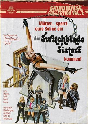 Die Switchblade Sisters (1975) (Grindhouse Collection, Uncut, Blu-ray + DVD)