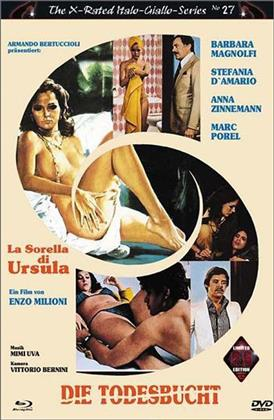 Die Todesbucht - La sorella di Ursula (1978) (Eurocult Collection, Grosse Hartbox, Cover A, The X-Rated Italo-Giallo-Series, Limited Edition, Uncut, Blu-ray + DVD)