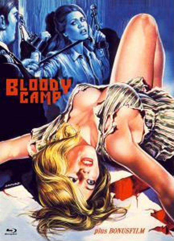 Bloody Camp (1978) (Cover B, Eurocult Collection, Limited Edition, Mediabook, Uncut, Blu-ray + DVD)