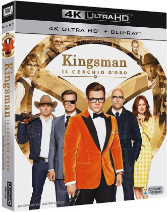 Kingsman 2 - Il cerchio d'oro (2017) (4K Ultra HD + Blu-ray)