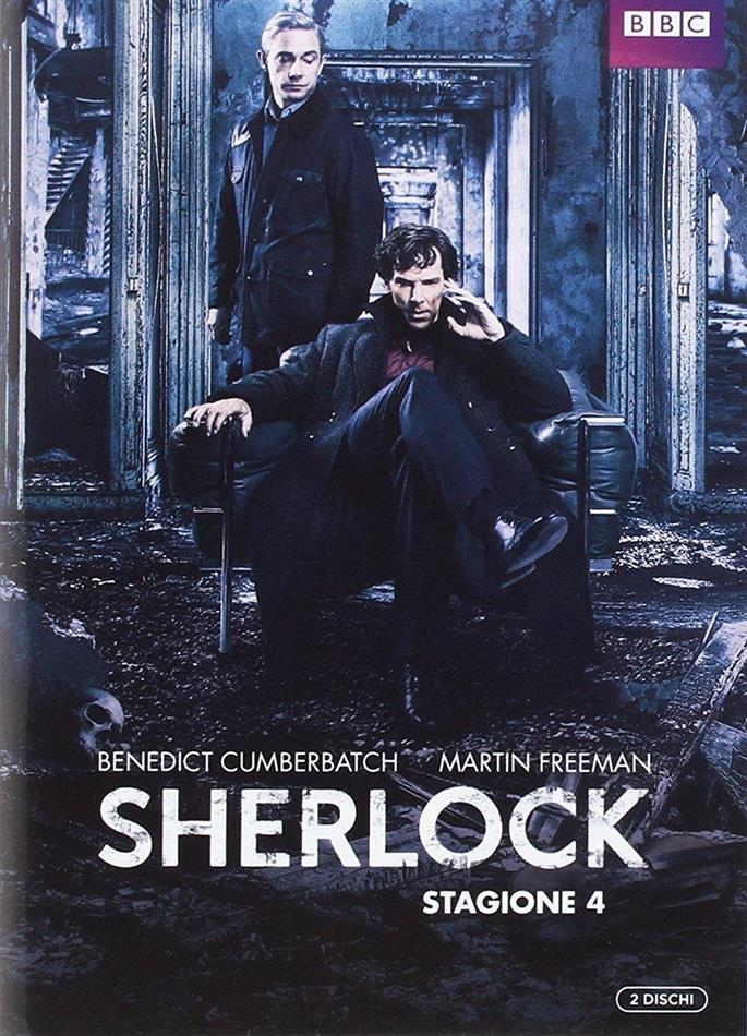 Sherlock - Stagione 4 (BBC, 2 DVD)