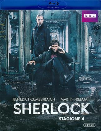 Sherlock - Stagione 4 (BBC, 2 Blu-ray)