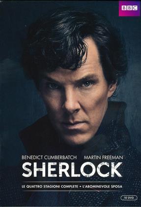 Sherlock - Stagioni 1-4 + L'abominevole Sposa (BBC, 10 DVDs)