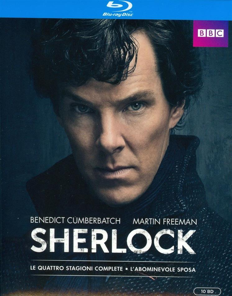 Sherlock - Stagioni 1-4 + L'abominevole Sposa (BBC, 10 Blu-rays)