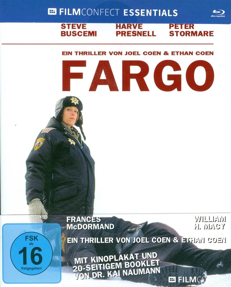 Fargo (1996) (Filmconfect Essentials, Mediabook)