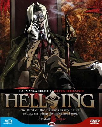 Hellsing - Ultimate OVA 3 & 4 (Limited Edition, Blu-ray + DVD)