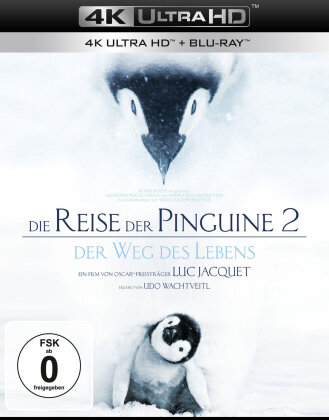 Die Reise der Pinguine 2 - Der Weg des Lebens (2017) (4K Ultra HD + Blu-ray)
