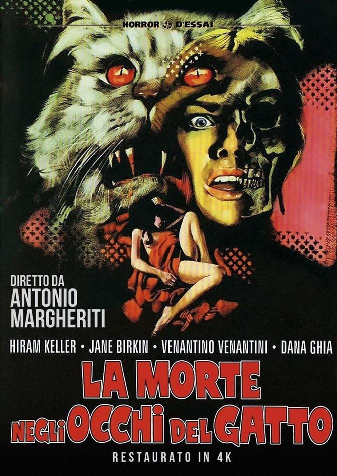 La morte negli occhi del gatto (1973) (Horror d'Essai, Versione Rimasterizzata)