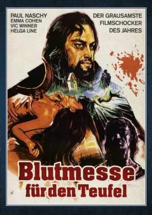 Blutmesse für den Teufel (1973) (Paul Naschy - Legacy of a Wolfman, Limited Edition, Uncut, Blu-ray + DVD)