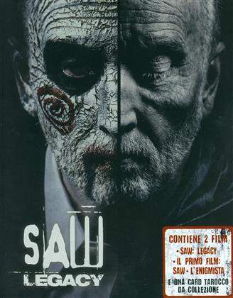 Saw - L'enigmista (2004) / Saw 8 - Legacy (2017) (Limited Edition, Steelbook, 2 Blu-rays)