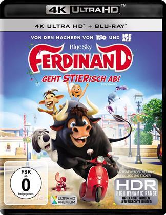 Ferdinand - Geht STIERisch ab! (2017) (4K Ultra HD + Blu-ray)