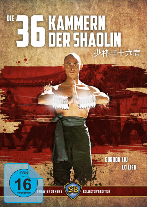 Die 36 Kammern der Shaolin (1978) (Shaw Brothers Collector's Edition, Limited Edition, Uncut, Blu-ray + DVD)