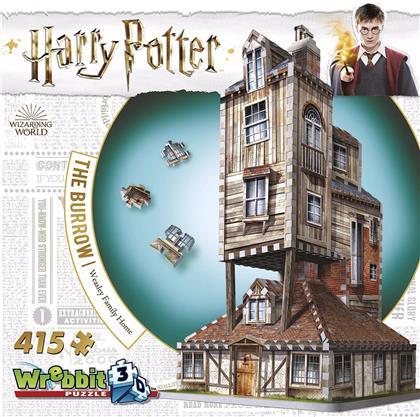 Harry Potter: Fuchsbau (Haus der Weasley's) - 3D Puzzle