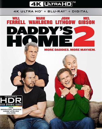Daddy's Home 2 (2017) (4K Ultra HD + Blu-ray)