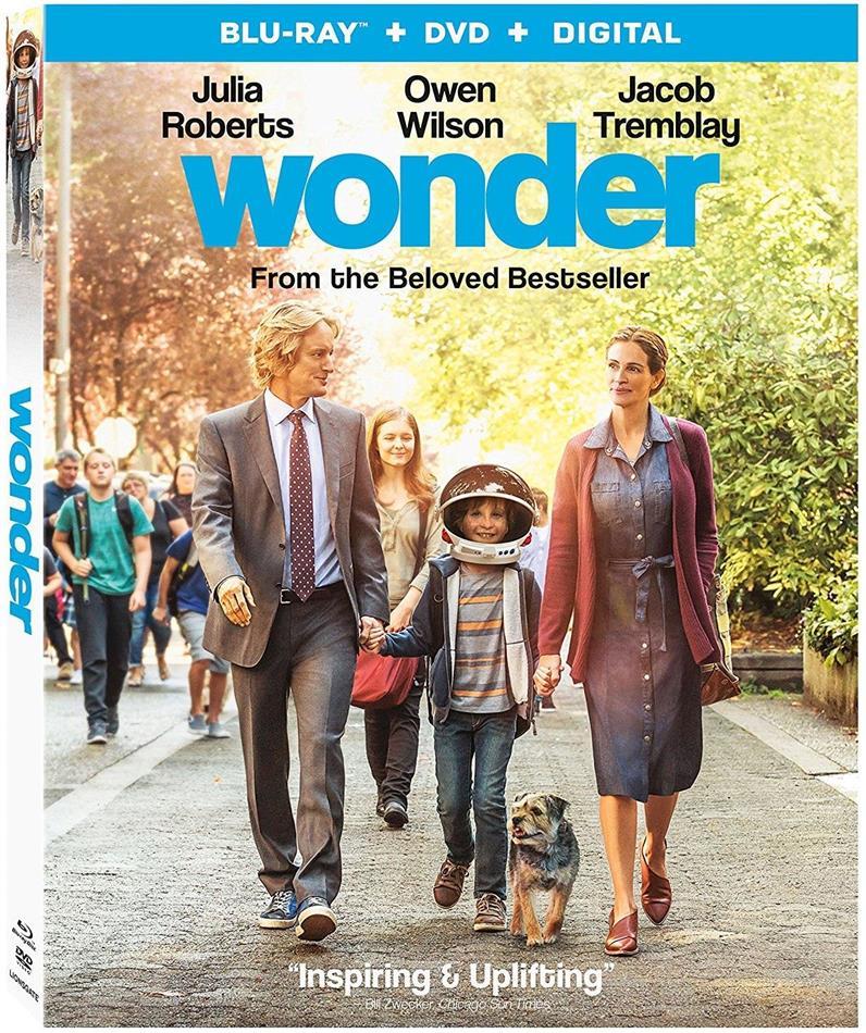 Wonder (2017) (Blu-ray + DVD)