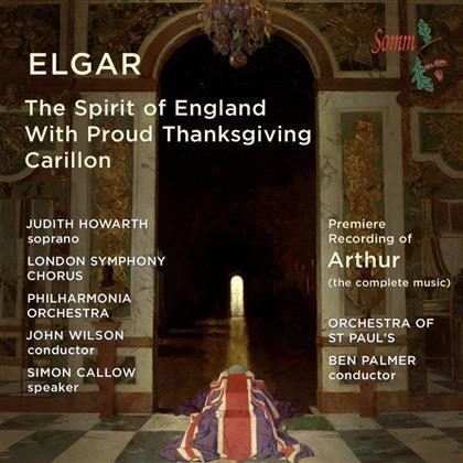 John Wilson, Judith Howarth & Philharmonia Orchestra - The Binyon Settings / Arthur