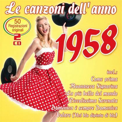 Le Canzoni Dell'Anno 1958 (2 CDs)