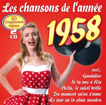 Les Chansons De L'Année 1958 (2 CD)