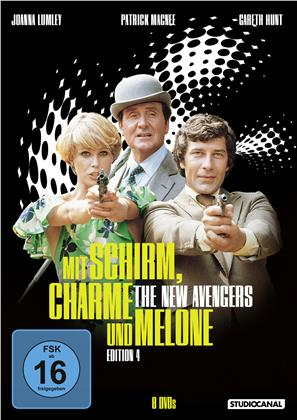 Mit Schirm, Charme und Melone - Edition 4 (Edition 4, Neuauflage, 8 DVDs)