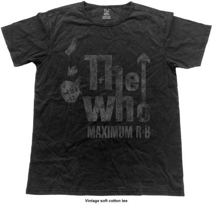 The Who Unisex Fashion Tee - Max R&B Vintage (Vintage Finish)
