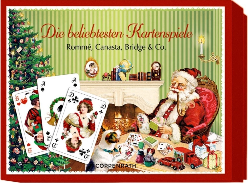 Die beliebtesten Kartenspiele (Spielkarten) - Rommé, Canasta, Bridge & Co.