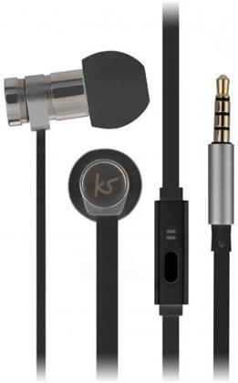 KitSound Nova Earphones - black