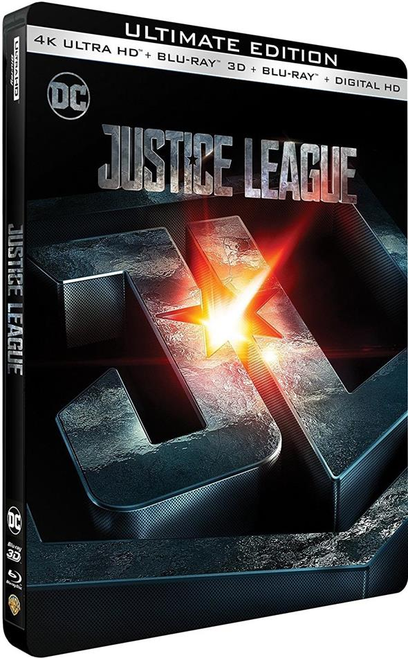 Justice League (2017) (Limited Edition, Steelbook, 4K Ultra HD + Blu-ray 3D + Blu-ray)