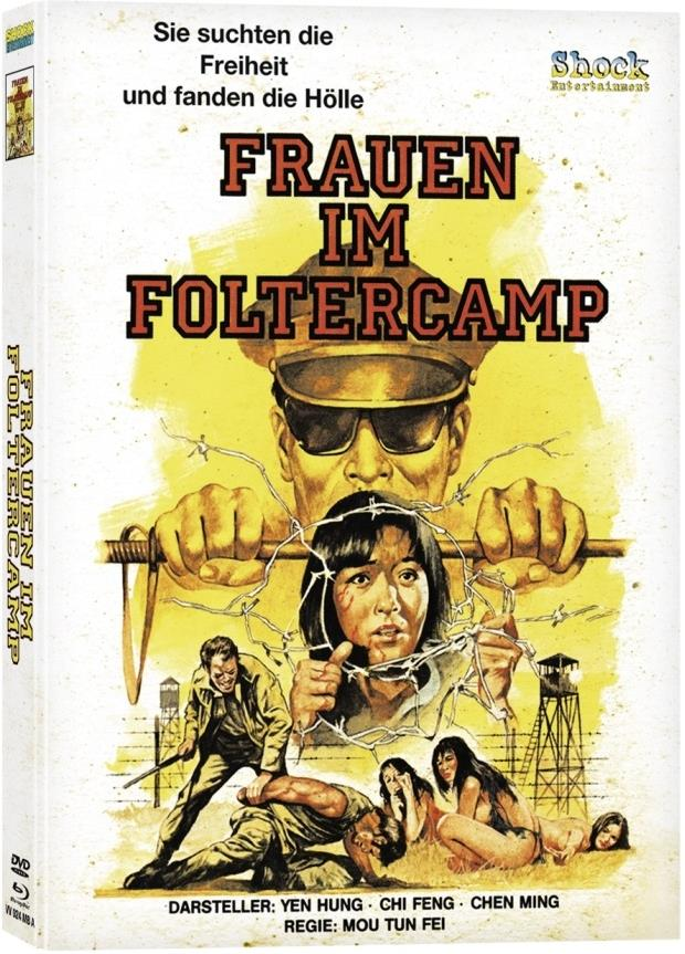 Frauen im Foltercamp (1980) (Cover A, Edizione Limitata, Mediabook, Uncut, Blu-ray + DVD)