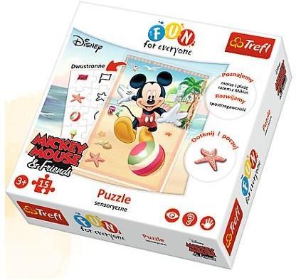 Puzzle Myszka Miki sensoryczne Fun for everyone 15