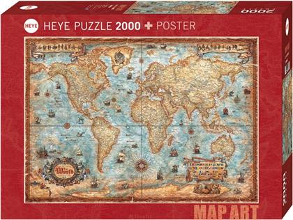 The World - 2000 Teile Puzzle