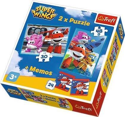 Puzzle 2w1 Podniebni bohaterowie