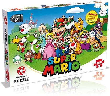 Super Mario and Friends - Puzzle 500 Teile